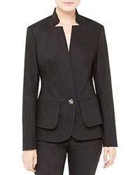 Ted Baker Cayci Layered Peplum Blazer Black