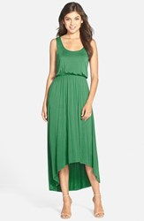 Women's Felicity And Coco High Low Hem Jersey Tank Dress Kelly Green