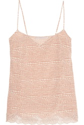 Stella Mccartney Ellie Leaping Printed Stretch Silk Crepe De Chine Camisole