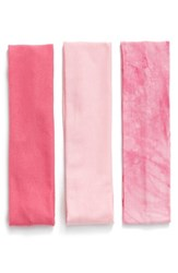 Berry Stretchy Head Wraps Pink