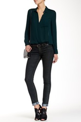 Rich And Skinny Coated Skinny Jean Green