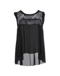 Axara Paris Topwear Tops Women Black