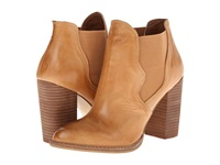 Chinese Laundry Zane Cognac Cow Leather Women's Dress Pull On Boots Mahogany