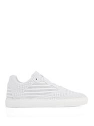 Balenciaga Low Top Perforated Leather Trainers