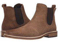 Dune Manderin Taupe Suede Men's Pull On Boots