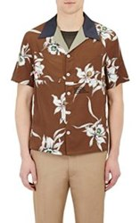 Valentino Men's Bowling Shirt Multi