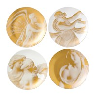Wedgwood Gilded Muse Side Plates Set Of 4
