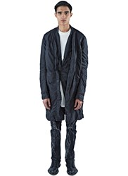 Rick Owens Faun Mid Length Caban Jacket Black