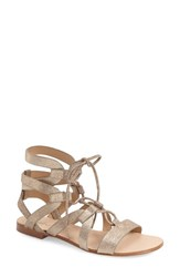 Women's Splendid 'Cameron' Lace Up Sandal Champagne Suede