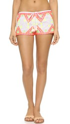 Coolchange Babe Shorts Neon Embroidery