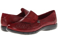Cobb Hill Paulette Red Women's Slip On Dress Shoes