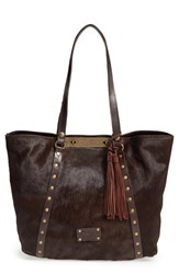 Patricia Nash 'Cavalino Benvenuto' Genuine Calf Hair And Leather Tote