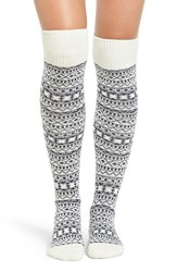 Treasure And Bond Women's Fair Isle Over The Knee Socks