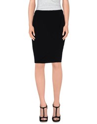 Antonio Fusco Skirts Knee Length Skirts Women Black