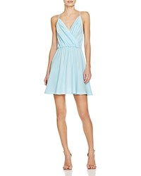 Amanda Uprichard Chelsea Silk Dress Ice Blue