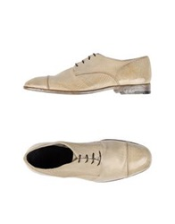 Alberto Fasciani Lace Up Shoes Light Grey