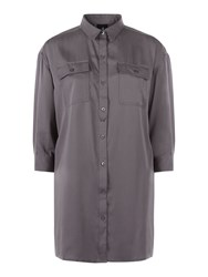 Victorinox Giulia Shirt Dress Grey