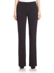 Escada Zipped Trousers With Side Pockets Black
