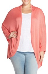 Plus Size Women's Melissa Mccarthy Seven7 One Button Oval Cardigan