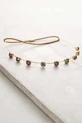 Anthropologie Simona Oyster Headband Gold