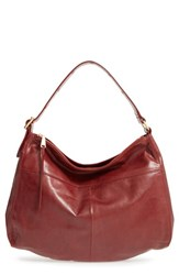 Hobo 'Quincy' Leather Brown Mahogany
