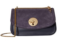 See By Chloe Lois Medium Evening Double Carry Crossbody Midnight