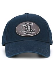 Diesel Embroidered Patch Baseball Cap Blue