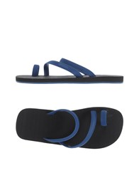 Danward Footwear Thong Sandals Men Blue