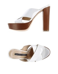 Francesco Morichetti Sandals White