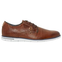 Dune Barbican Leather Lace Up Shoes Tan