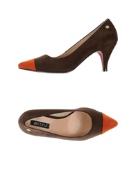 Cuple Pumps Brown