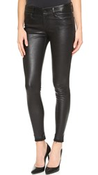 Rta Prince Leather Jeans Mystic