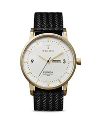 Triwa Klinga Leather Strap Watch 38Mm White