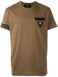 N 21 No21 Chest Patch T Shirt Green