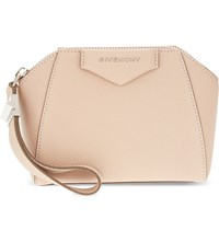 Givenchy Antigon Leather Cosmetic Case Nude