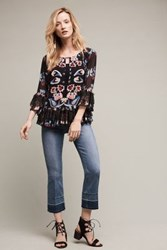 Anthropologie Mcguire Gainsbourg Cropped Jeans Tinted Denim