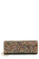 Natasha Couture Embellished Barrel Clutch