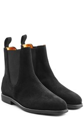 Ludwig Reiter Suede Ankle Boots Black