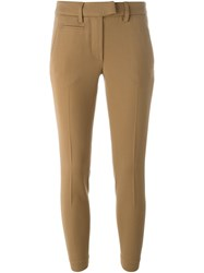 Dondup Slim Chino Trousers Nude And Neutrals