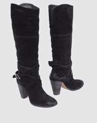 Annarita N. High Heeled Boots Black