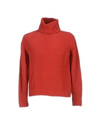 C.P. Company Turtlenecks Red