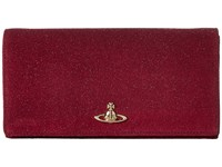 Vivienne Westwood Angel Purple Clutch Handbags