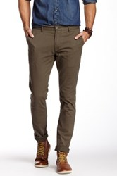 Micros The Knight Rider Slim Leg Chino Pant Green