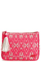 Stephanie Johnson 'Tamarindo Pink' Large Zip Top Cosmetics Case