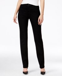Styleandco. Style And Co. Tummy Control Slim Leg Jeans Only At Macy's Noir