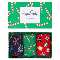Happy Socks Christmas One Size Pack Of 3 Multi