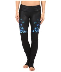 Alo Yoga Gypset Goddess Leggings Blue Butterfly Women's Casual Pants