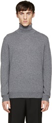 Paul Smith Grey Cashmere Turtleneck