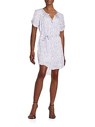 Joie Onalee Belted Shirtdress Icy Lilac