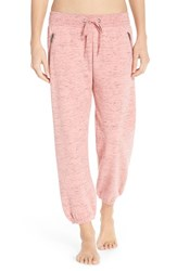 Women's Make Model 'Weekend' Jogger Sweatpants Pink Flamingo